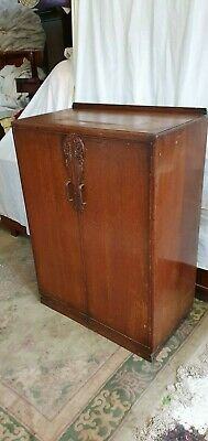 Vintage All Original Features Gents Wardrobe