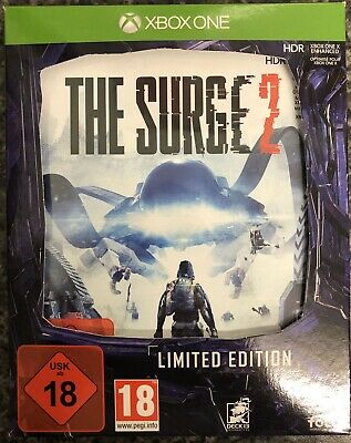 Xbox One THE SURGE 2 LImited Edition Box Only No Game Disc