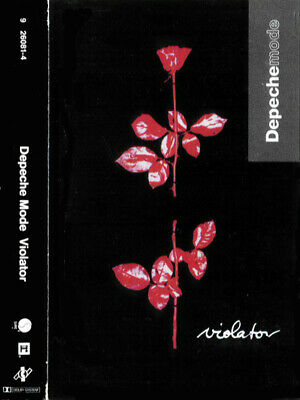Depeche Mode ‎– Violator 1990 cassette tape US