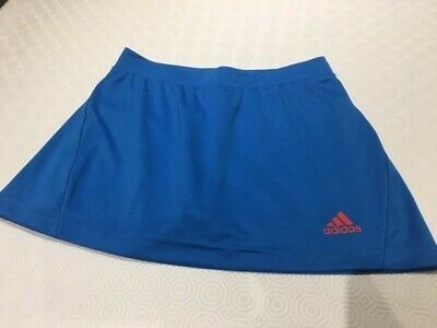 Adidas Girls Tennis Skort Aged 9-10 Years,looks new,climalite material