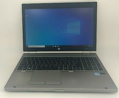 Hp EliteBook 8570p intel Core i5-3210M, 2.50 GHz, 8 GB RAM, 320 GB HDD Win 10