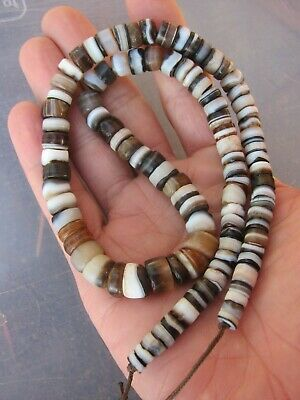 100 Very Rare Ancient Beads Indo - Tibetan Sulemani Chung Agate Bead - Necklace