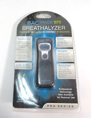 Bactrack B70 Breathalyzer ~Tracks Blood Alcohol Content In Seconds