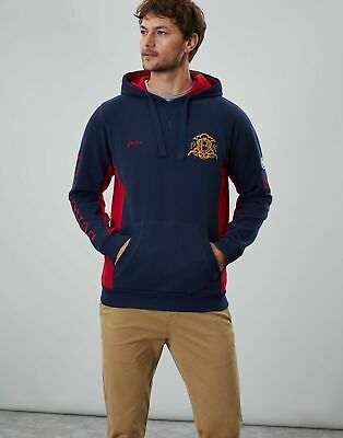 Joules Men Official Burghley Horse Trials   Hooded Sweatshirt in  Size XL