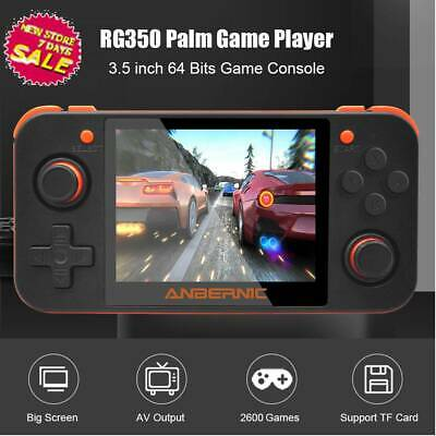 RG350 3.5'' IPS Screen Handheld Video Game Console Player 16G Mini Game Console