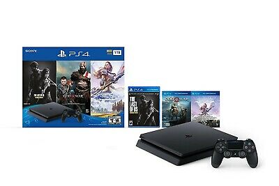 PlayStation 4 Slim 1TB Console - Only On PlayStation Bundle INCLUDES 3 GAMES!