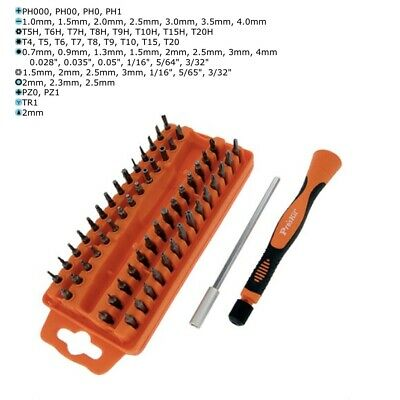 58 Piece by Eclipse Eclipse Tools 902-219 ProsKit Precision Electronic Screwdriver Bit Set