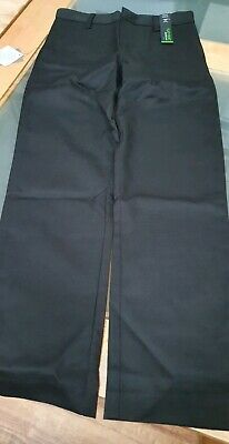 Boys New Black School Trousers Flat  Front Slim Fit  Next Size  10 Years