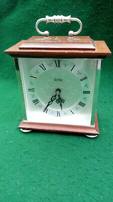 Vintage Acctim Quartz  Mantel Clock with German Nova Quartz movement