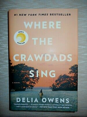 Where the Crawdads Sing by Delia Owens (Hardcover,2018)  *AUTOGRAPHED* Signed