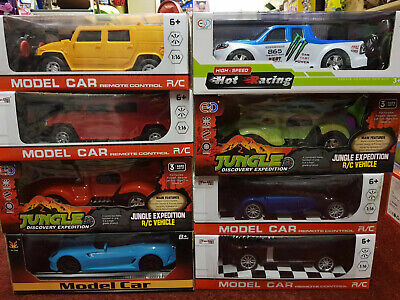 x6 Wholesale Clearance Joblot Radio Remote Control Cars - Shops Market Trader