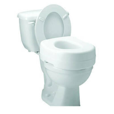 Compass Health Raised Toilet Seat for Standard Toilets