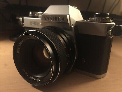 Vintage Yashica FR 35mm SLR Film Camera with Yashica DSB 50mm 1.9 Lens