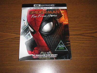 Spider-Man: Far From Home (4K Ultra HD/Blu-Ray, 2019, 2 Discs, Digital) Cover