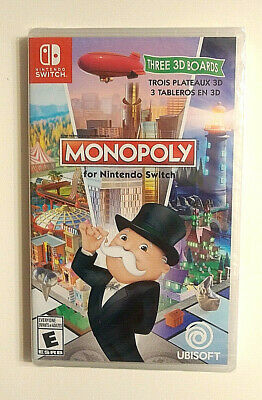 Monopoly Nintendo Switch Game Family Video Games 2017 Board Games Brand New
