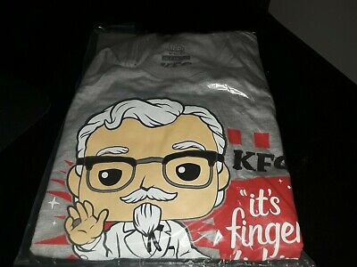 Funko Exclusive Ad Icons: KFC  Colonel Sanders Pop Tee size XXLarge T-shirt only