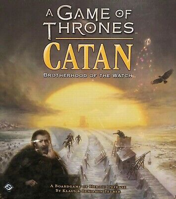 A Game of Thrones Catan: Brotherhood of the Watch Brand New Sealed!
