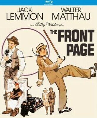 Front Page (1974) New Bluray