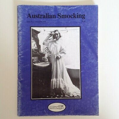 Australian Smocking Magazine - Issue No. 6 - 1988