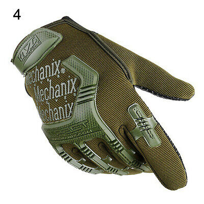 Tactical Full Finger Gloves Combat Military Police Motorbike ATV Hunting Hiking