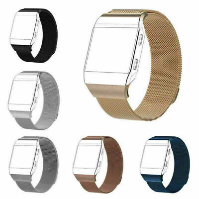 For Fitbit Ionic Strap Replacement Milanese Band Metal Stainless Steel Magnet