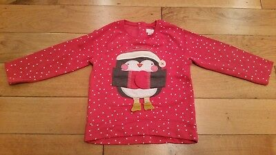 Girls Christmas Jumper From Next Age 5-6 Years