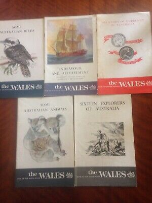 The Wales, Vintage Booklets, Bank Of New South Wales