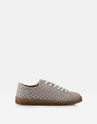 Joules Girls Solena Cupsole Trainers in LILAC STAR