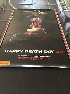 Cinema Movie Poster - Happy Death Day 2U Scary Horror Thriller Sci-fi Alien Cake
