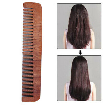 Hair Brush Haircut Comb Wooden Styling Paddle Salon Hair Brushes Long Combs 6A