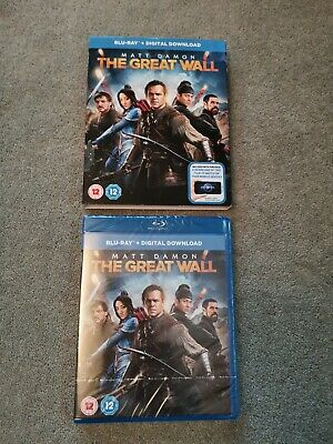 The Great Wall (with Digital Download) [Blu-ray]. Slip Sleeve. New Sealed
