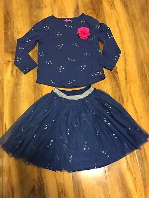 Joules Girls Skirt & Top Age 5-6 Years Old (116cm)