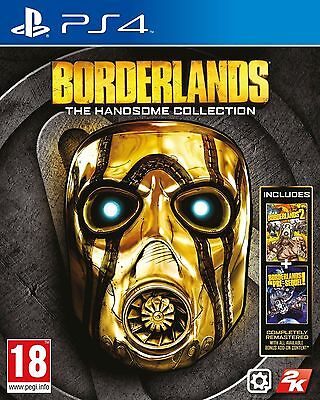 Borderlands: The Handsome Collection PS4 Inc Manual & Fast Free Postage/Dispatch