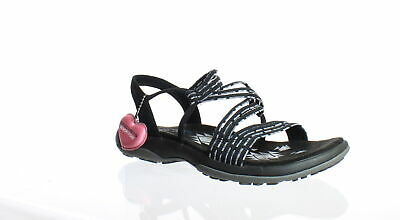 NEW SKECHERS REGGAE Rasta Black Sandals Womens 5 Sport