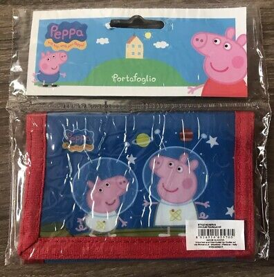 George Pig Wallet Holiday Gift Present Boys Purse Wallet Birthday Gift