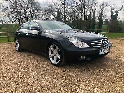 2007 57 Mercedes-Benz CLS320 CDI 7G-Tronic coupe Full Service History