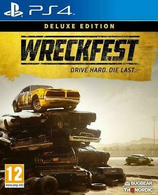 Wreckfest Deluxe Edition Ps4 New Sealed Uk Pal