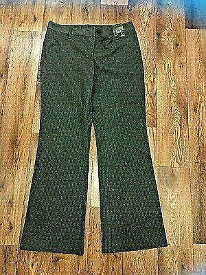H&M Low Waist Grey Bootcut Pinstripe Trousers New With Tags