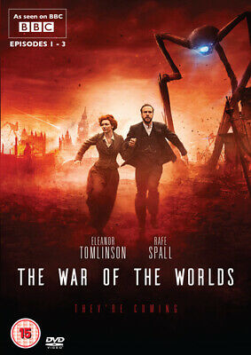 The War of the Worlds DVD (2019) Eleanor Tomlinson cert 15 ***NEW*** Great Value