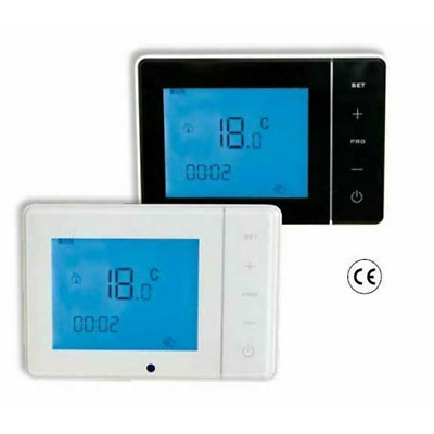 """27650130 Cronotermostato Ambiente A Radiofrequenza """"Smart Plus Bianco Aar"""" 3V Dc"""