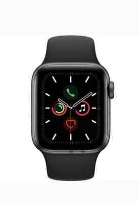 Apple Watch Series 5 44mm Space Gray (Aluminum, Sports Band) Brand New Unopen