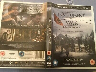 Instrument of War DVD (2019) Jack Ashton, WW2 camp. Nazi. Prisoners of war.