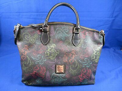 Disney Dooney and Bourke 2014 Epcot Food and Wine Festival Mickey Chef Satchel