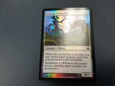 4 Artisan of Kozilek ~ Colorless Rise of the Eldrazi Mtg Magic Uncommon 4x x4