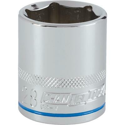 Channellock 1/2 In. Drive 28 mm 6-Point Shallow Metric Socket 302833  - 1 Each