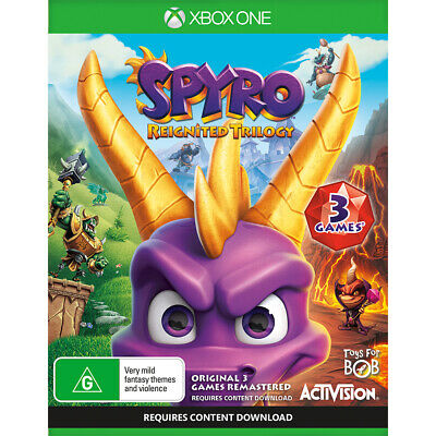 Spyro: Reignited Trilogy preowned - Xbox One - PREOWNED