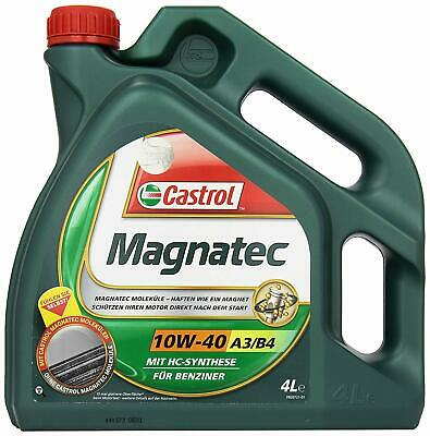 Castrol 58634 MAGNATEC Engine Oil 10W-40 A3/B4 4L (German label)