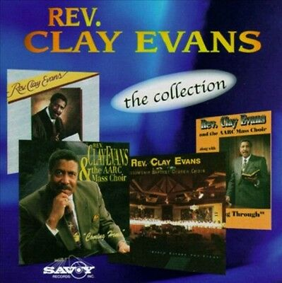 Rev. Clay Evans   - Collection -   New Factory Sealed CD