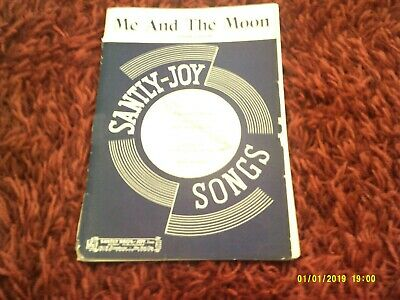 ME AND THE MOON jazz Big Band swing chart arrangement orchestration sheet music