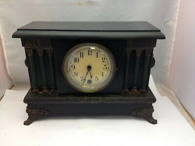 Old Antique Ingraham Sessions? Mantle Clock W/ Pendulum Time Only
